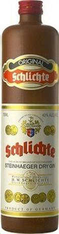 Schlichte Steinhager Gin 80@